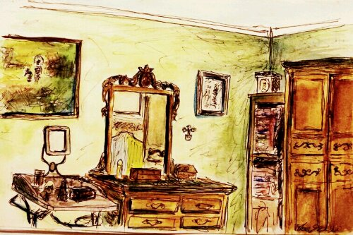 image sketchbook Marco Guzzini - Ricordi