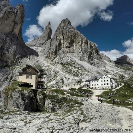 Foto: Il rifugio Vajolet