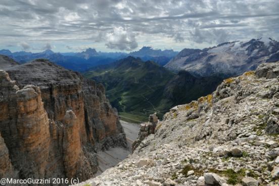 Foto: ancora una vista dal Sas Pordoi