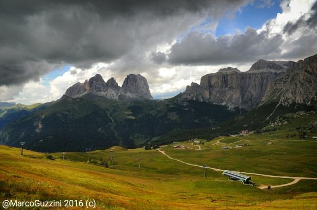 Foto: Il tempo cambia sul Sasso lungo visto da Col de Rossi