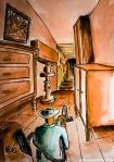 Illustrazione da passeggio : Aspirazioni - Breve racconto illustrato - esercizio quotidiano di fantasia, meraviglia e inchiostro