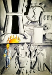 Illustrazione da passeggio : Monday Coffee Story - Breve racconto illustrato - esercizio di meraviglia