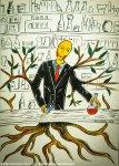 Illustrazione da passeggio : Trasformarsi in Albero